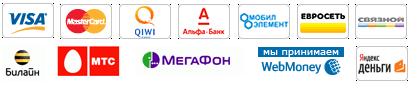 Взнос можно сделать с помощью: Visa,Mastercard, Webmoney, Yandex деньги, Альфа-клик, через мобильный платеж с вашего телефона Билайн, МТС, Мегафон и др.