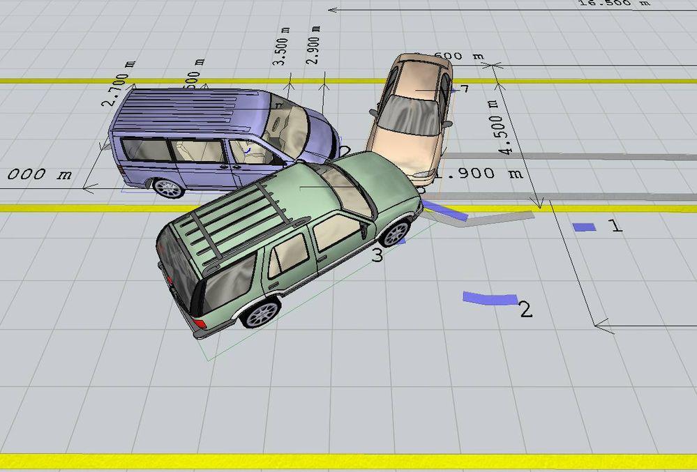 3Д схема