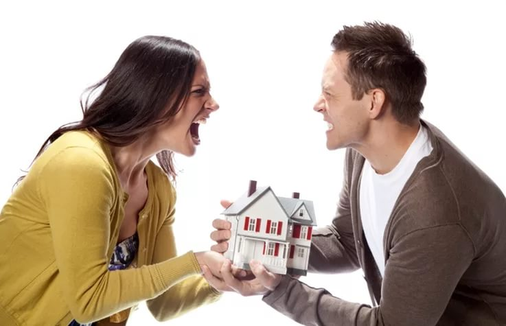 как поделить ипотеку между бывшими супругами могу