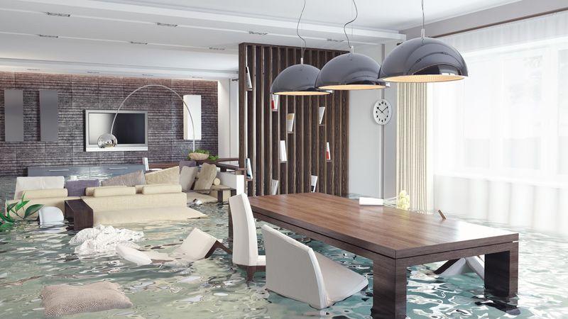 страховая компания при заливе квартиры